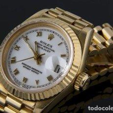 Relojes - Rolex: ROLEX OYSTER PERPETUAL DATE JUST ORO DAMA. Lote 294018218