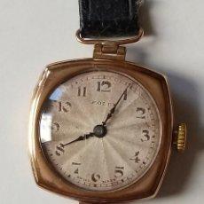 Relojes - Rolex: RELOJ ROLEX DE ORO DE 9 KILATES. Lote 295645038