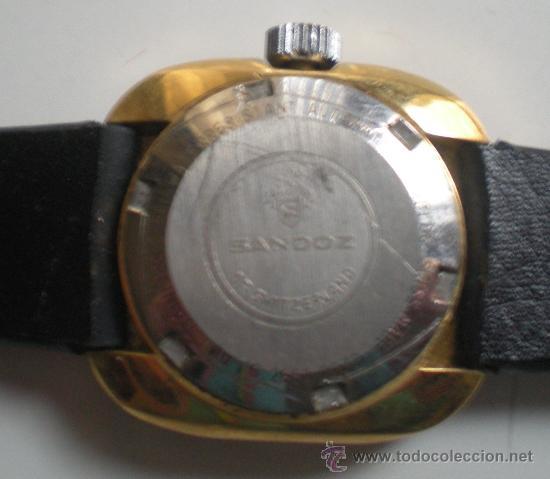 Relojes - Sandox: RELOJ SRA SANDOZ CHAPADO EN ORO - Foto 4 - 36048358