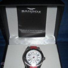 Relojes - Sandox: SANDOZ ,RELOJ EDICION LIMITADA FERNANDO ALONSO, NUEVO EN CAJA, SIN UTILIZAR.PRECIOSO.. Lote 47643543