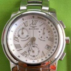 Relógios - Sandoz: SANDOZ ALBORÁN CRONO CABALLERO ACERO.. Lote 88924932