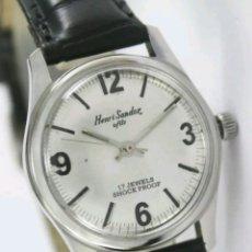 Relojes - Sandox: RELOJ HENRI SANDOZ AUTOMÁTICO. Lote 94128882