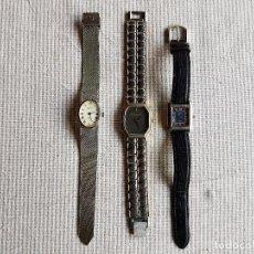 Relojes - Sandox: LOTE DE 3 RELOJES. TAL CUAL SE VEN, NO FUNCIONAN.. Lote 95562943