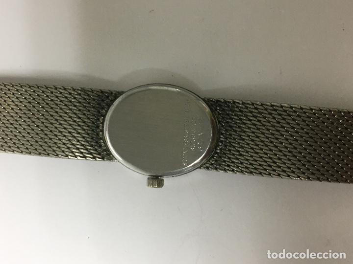 Relojes - Sandox: Reloj sandoz antiguo carga manual en acero completo en funcionamiento de coleccionistas - Foto 4 - 97286139