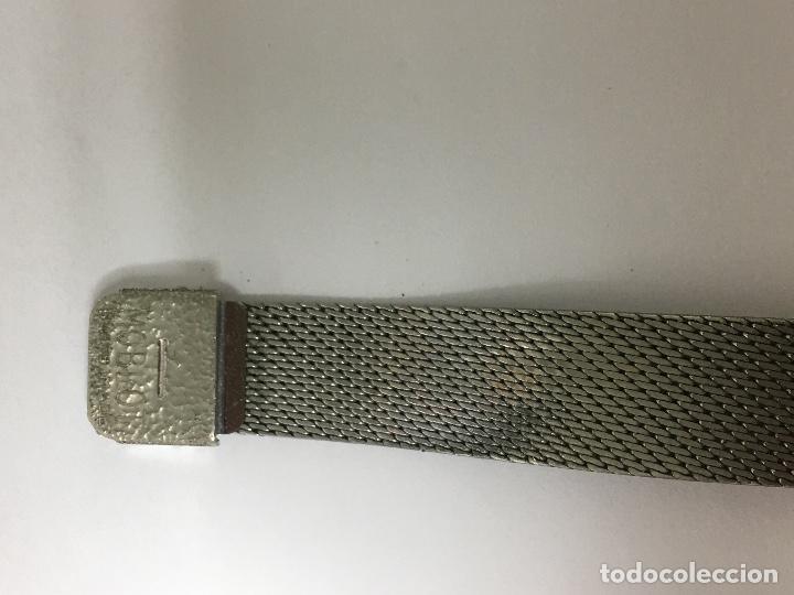 Relojes - Sandox: Reloj sandoz antiguo carga manual en acero completo en funcionamiento de coleccionistas - Foto 5 - 97286139