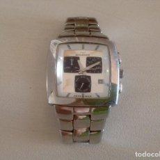 Relojes - Sandox: RELOJ SANDOZ. A PILAS. SWISS MADE. CRONÓGRAFO. 100 M. ESTADO SEGÚN FOTOS.. Lote 97668399