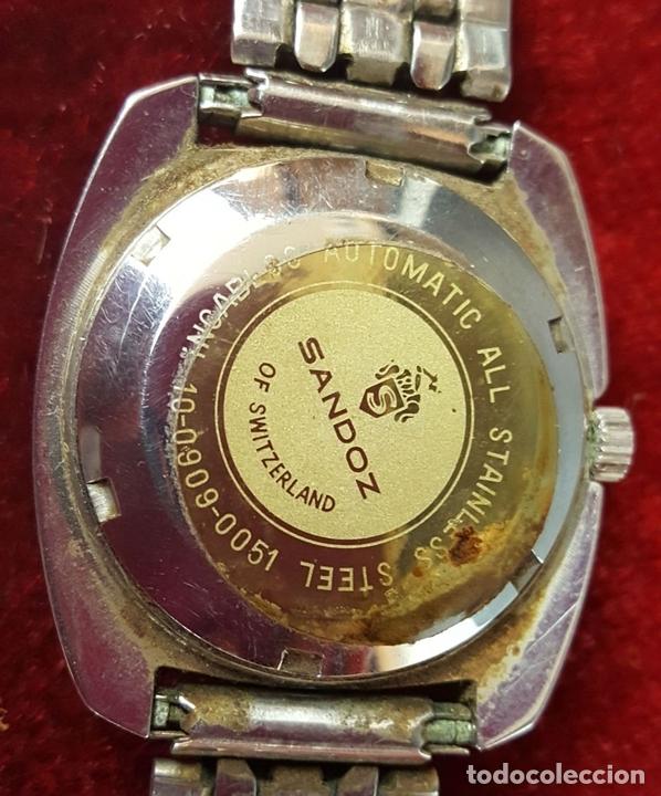 Relojes - Sandox: RELOJ DE PULSERA. SANDOZ. MISTERY DIAL. 25 JEWELS. SUIZA. CIRCA 1970. - Foto 3 - 100145711
