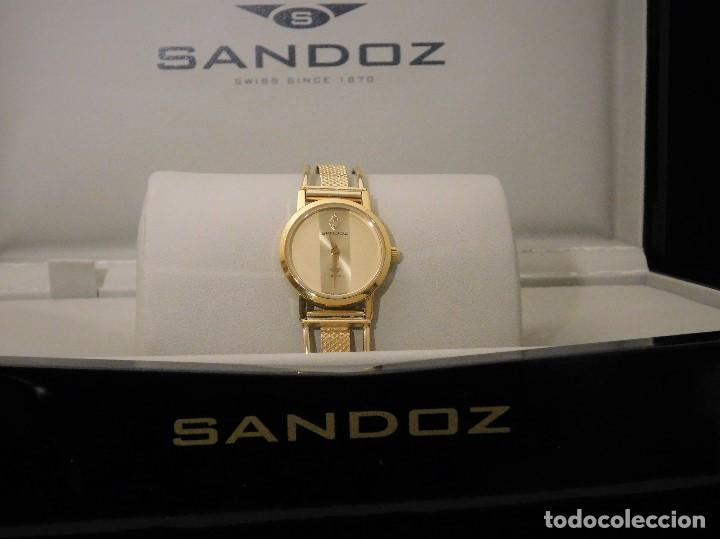 3c743168ceba Relojes - Sandox  ELEGANTE RELOJ JOYA SANDOZ SAPHIR CON ARMIS EN ORO DE 18  QUILATES