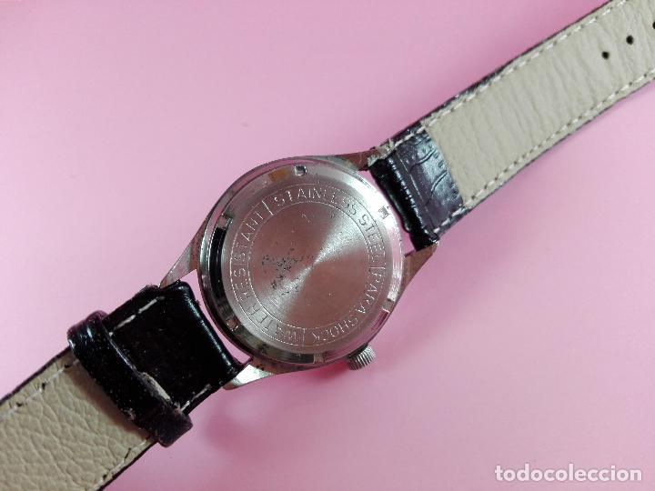 Relojes - Sandox: reloj-henri sandoz & fils-Manual-buen estado-correa piel-color a definir-antiguo-Viene de joyería ma - Foto 7 - 118360835