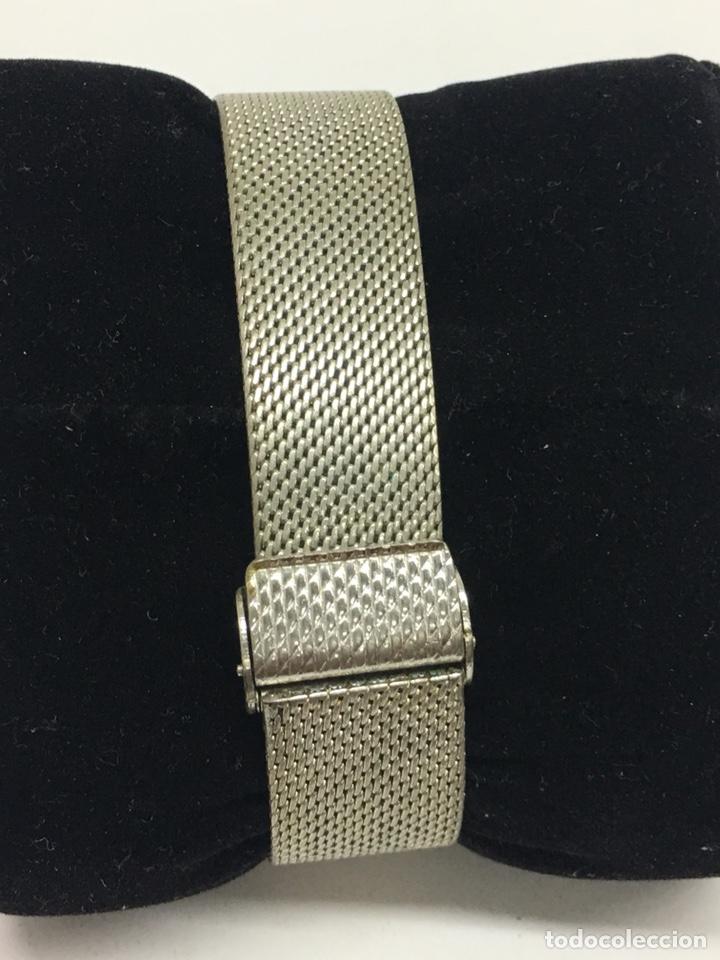 Relojes - Sandox: Reloj Sandoz carga manual vintage con Corona de piedras engastadas para coleccionistas - Foto 4 - 129462460