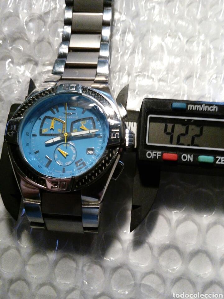 Relojes - Sandox: Reloj Sandoz ediccion Fernando Alonso, swiss made, crono y datario wr 100 m color de Asturies - Foto 8 - 134054183