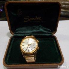 Relógios - Sandoz: RELOJ SANDOZ / 17 JEWELS CON SU CAJA ORIGINAL (G). Lote 138799618