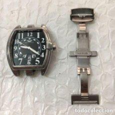 Relojes - Sandox: RELOJ SANDOZ EDICIÓN LIMITADA, 42 MM S.C.C. FUNCIONANDO, FALTA CRISTAL Y TROZO CORREA.. Lote 146081402
