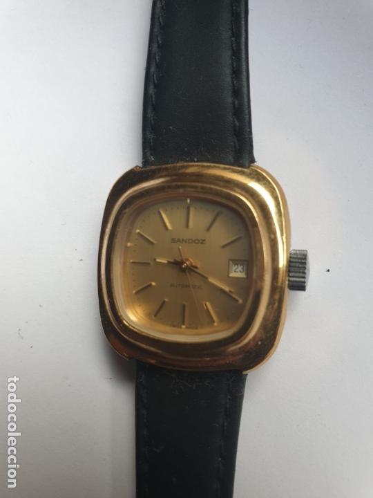 Relojes - Sandox: RELOJ SRA SANDOZ CHAPADO EN ORO - Foto 2 - 36048358