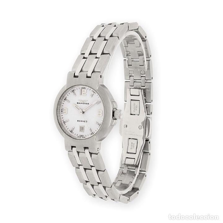 Relojes - Sandox: Reloj de Señora Sandoz Borneo de Acero - Foto 2 - 155784866