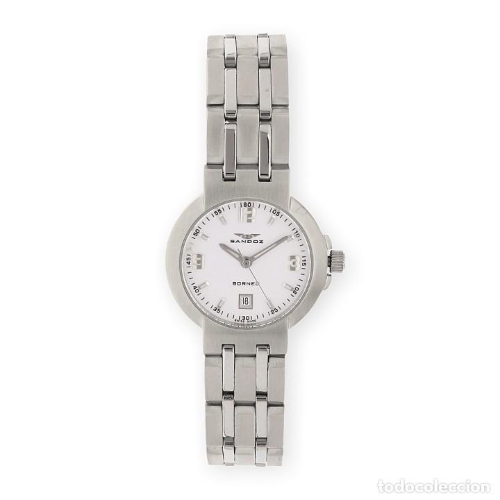 Relojes - Sandox: Reloj de Señora Sandoz Borneo de Acero - Foto 3 - 155784866