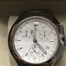 Relojes - Sandox: RELOJ SANDOZ YAKARTA QUARTZ CHRONOGRAPH TODO ACERO EN SU CAJA. Lote 169012336