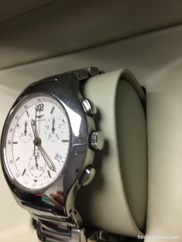 Relojes - Sandox: Reloj Sandoz Yakarta Quartz chronograph todo acero en su caja - Foto 2 - 169012336