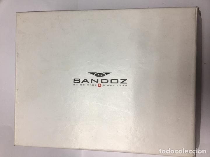 Relojes - Sandox: Reloj Sandoz Yakarta Quartz chronograph todo acero en su caja - Foto 9 - 169012336