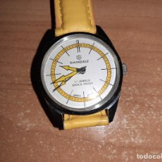 Relojes - Sandox: RELOJ DE CUERDA SANDOZ, SIN USAR, DE ANTIGUO STOCK, FUNCIONA CORRECTO.. Lote 171145095