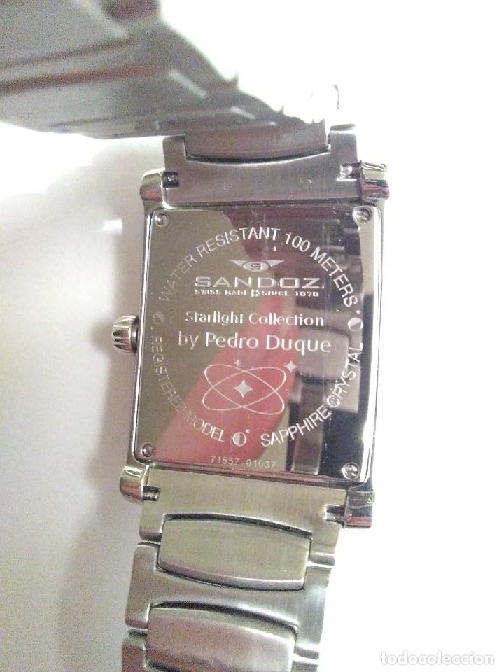 Relojes - Sandox: reloj de pulsera de caballero Sandoz coleccion Pedro Duque nuevo a estrenar Swiss - Foto 3 - 173165469