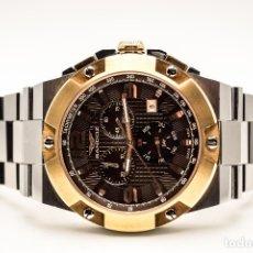 Relojes - Sandox: ESPECTACULAR CRONOGRAFO SANDOZ ACERO Y ORO. Lote 182962236