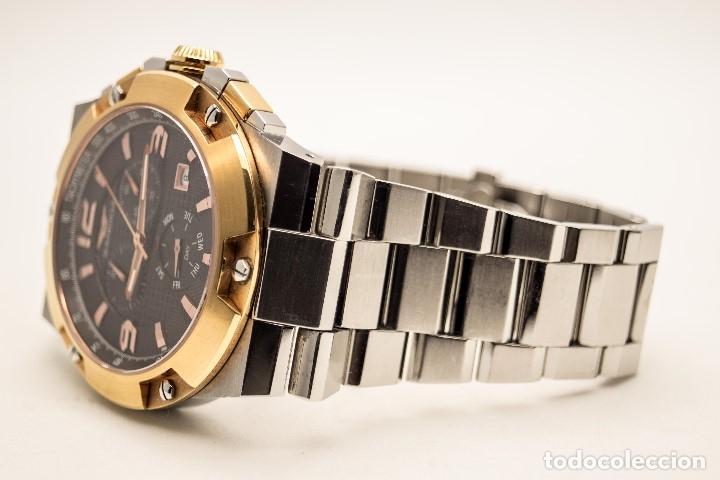 Relojes - Sandox: ESPECTACULAR CRONOGRAFO SANDOZ ACERO Y ORO - Foto 2 - 182962236