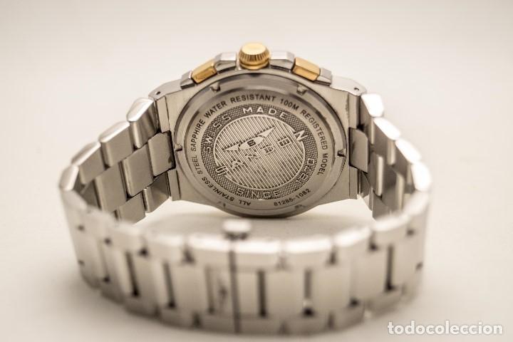 Relojes - Sandox: ESPECTACULAR CRONOGRAFO SANDOZ ACERO Y ORO - Foto 4 - 182962236