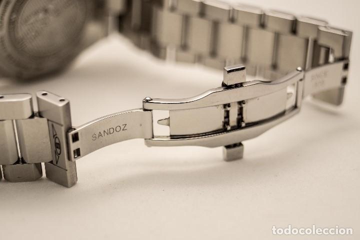 Relojes - Sandox: ESPECTACULAR CRONOGRAFO SANDOZ ACERO Y ORO - Foto 6 - 182962236