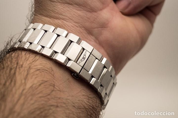 Relojes - Sandox: ESPECTACULAR CRONOGRAFO SANDOZ ACERO Y ORO - Foto 9 - 182962236