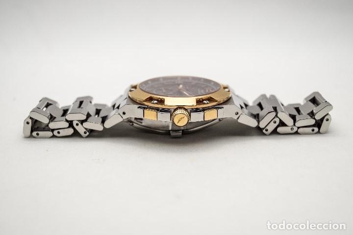 Relojes - Sandox: ESPECTACULAR CRONOGRAFO SANDOZ ACERO Y ORO - Foto 12 - 182962236