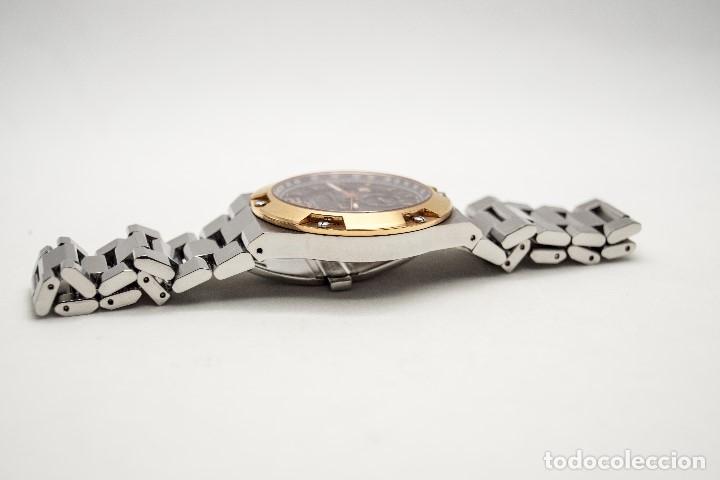 Relojes - Sandox: ESPECTACULAR CRONOGRAFO SANDOZ ACERO Y ORO - Foto 13 - 182962236