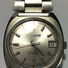 Relógios - Sandoz: RELOJ SANDOZ AUTOMÁTICO 25 JEWELS EN ACERO COMPLETO Y MAQUINARIA 905 ORIGINAL. Lote 184384123