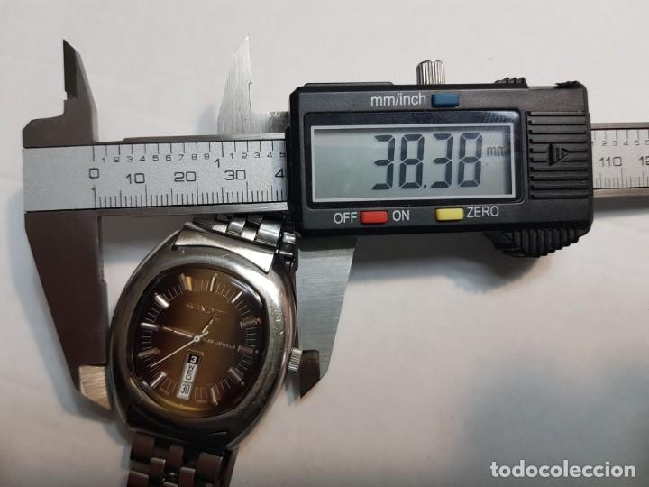 Relojes - Sandox: Reloj Caballero Automático Sandoz 25 jewels calendario a las 6 funcionando - Foto 5 - 189633840