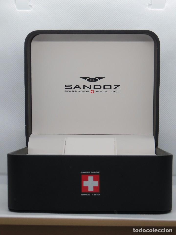 CAJA PARA RELOJ SANDOZ (Relojes - Relojes Actuales - Sandoz)