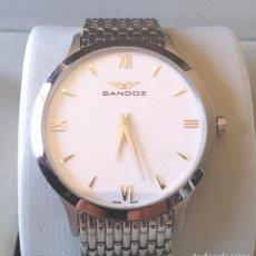Relojes - Sandox: RELOJ SANDOZ BIOKO, ACERO, CRISTAL ZAFIRO, POR ESTRENAR. Lote 192536126