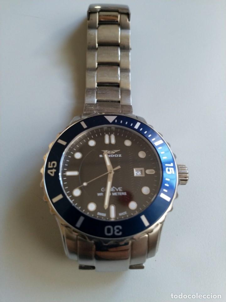 Relojes - Sandox: Reloj Sandoz /Diver / estilo Rolex~Omega - Foto 6 - 194991520