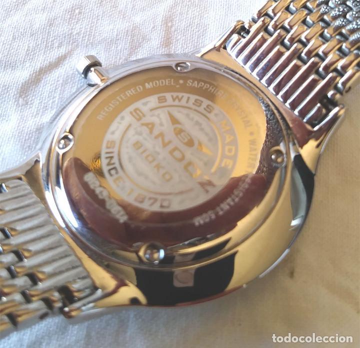 Relojes - Sandox: Sandoz Bioko Reloj Acero, Cristal Zafiro, con caja a estrenar. - Foto 5 - 207048050