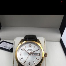 Relojes - Sandox: SANDOZ SWISS MADE 72597 ACERO ROSA CRISTAL ZAFIRO SUMERGIBLE 50M. Lote 235910800