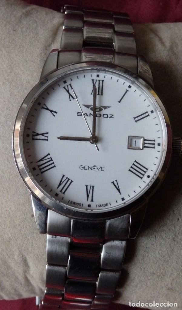 Relojes - Sandox: RELOJ SANDOZ 81439-1044 DE ACERO SOLIDO CON CRISTAL DE ZAFIRO INRAYABLE - Foto 2 - 238371845