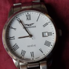 Relojes - Sandox: RELOJ SANDOZ 81439-1044 DE ACERO SOLIDO CON CRISTAL DE ZAFIRO INRAYABLE. Lote 238371845