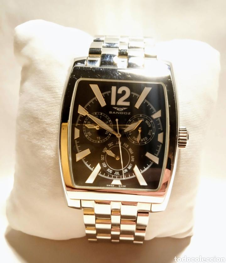 RELOJ CRONÓGRAFO SANDOZ PARA CABALLERO 72547-0156 NUEVO DE STOCK (Relojes - Relojes Actuales - Sandoz)