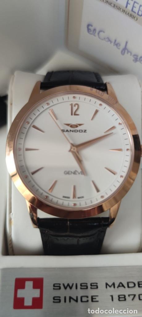 RELOJ SANDOZ SWISS MADE ZAFIRO ORO ROSA (Relojes - Relojes Actuales - Sandoz)