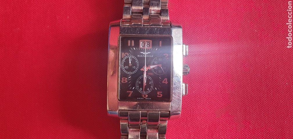 RELOJ SANDOZ CHRONOGRAFH CUARZO .MIDE 32.8 MM DIAMETRO (Relojes - Relojes Actuales - Sandoz)