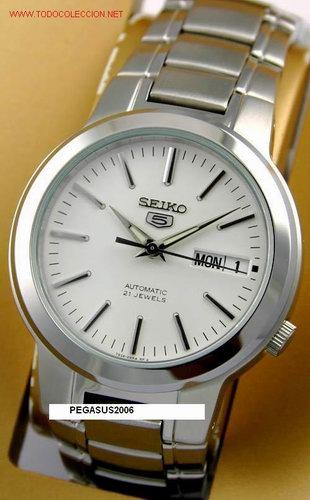 RELOJ CABALLERO SEIKO MODELO SNKA01 (Relojes - Relojes Actuales - Seiko)