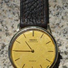 Relojes - Seiko: RELOJ SEIKO LASSALE DE CUARZO. Lote 23881949