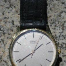Relojes - Seiko: RELOJ SEIKO CUARZO CON ESFERA COLOR PERLA. Lote 23423660
