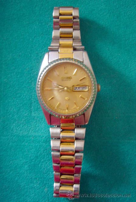 2ed01d1c99b1 Seiko quartz reloj de señora combinado acero  d - Vendido en Venta ...