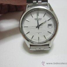 Relojes - Seiko: RELOJ SEIKO AUTOMATIC - ESFERA BLANCA . CALENDARIO . . Lote 30658051