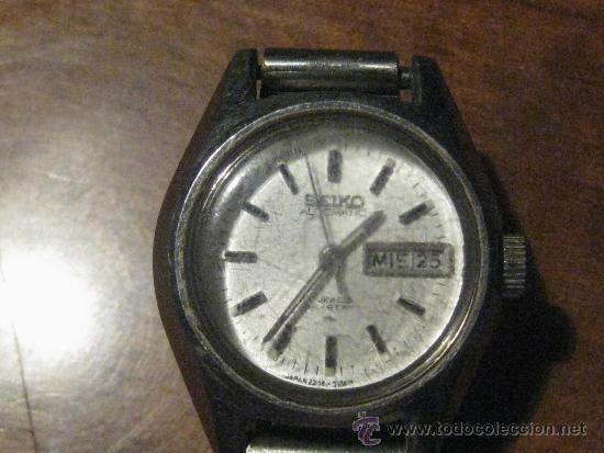 Relojes - Seiko: RELOJ SEIKO AUTOMATIC SEÑORA 17 JEWELS - Foto 2 - 36828141